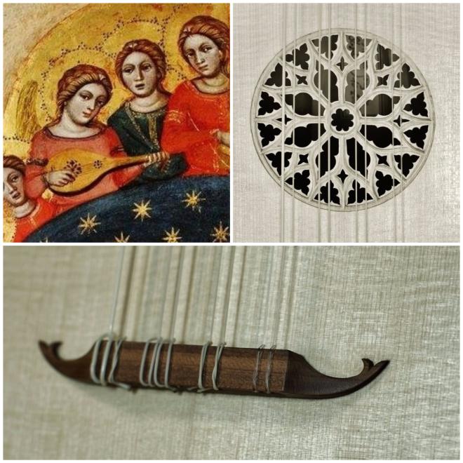 Luth médiéval medieval lute laute 3