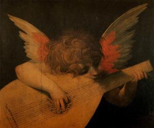 Rosso Fiorentino - Musician Angel 1520