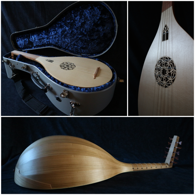 Luth medieval lute laute collage 9