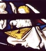 Cathédrale de Moulins vitrail XVe siècle