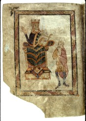 Psautier Bénédictin, St Remy de Sens - Vers 842/850