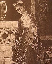 """Osman Hamdi Bey (1842-1910) """"İki Müzisyen Kız"""" (1880)"""
