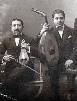 Kemençeci Aleko Bacanos ~ Udi Yorgo Bacanos (crédits Mustafa Karataş)